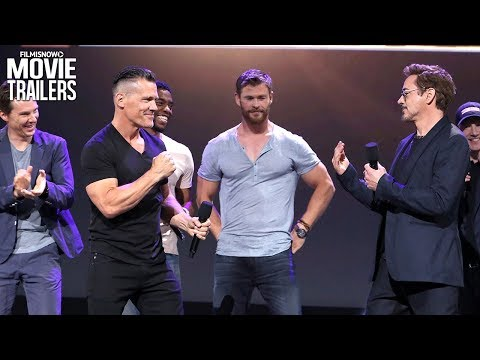 Avengers: Infinity War  Meet The Cast with Robert Downey Jr. & Josh Brolin