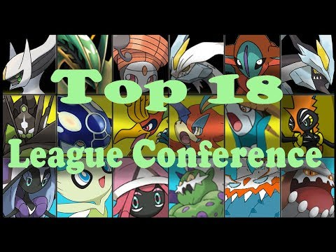 Meine Top 18 in der League Conference | Flash Contest / Monster Manual | Pokemon | Psycho D