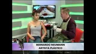 Bernardo Neumann trabajando en Hasta las manos Parte 1