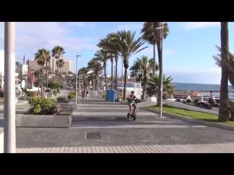 Playa de las Américas, Tenerife, Canary Islands in 1080p (Sony HDR-TD30V)