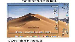 Transferring Imac Screen Recording To Explain Everything