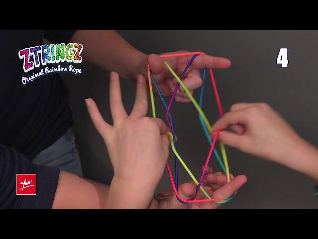 Ztringz Academy: Figure Cats Cradle - Cat's Cradle - Cat's Cradle - Cesta del gatto 07