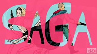 Dom Digs: Saga comic by Brian K. Vaughan and Fiona Staples