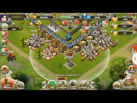 Dynasty War: Saving Amulets for 777 Hero