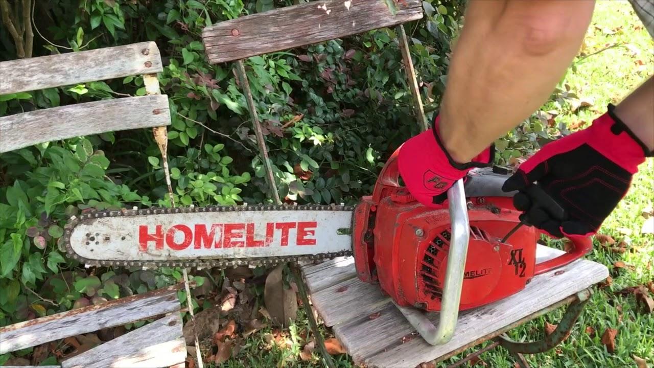 Homelite XL 12 - Vintage Chainsaw