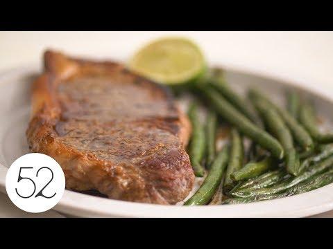 5-Minute Steak Dinner for One