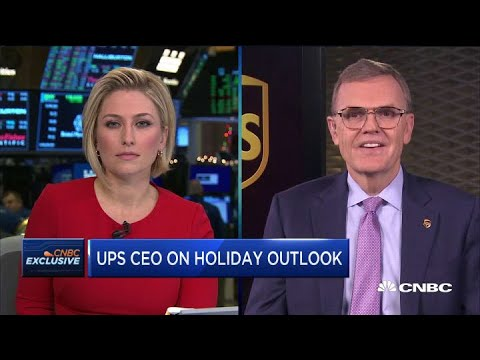 UPS CEO David Abney On The Shipping Company's Holiday Outlook