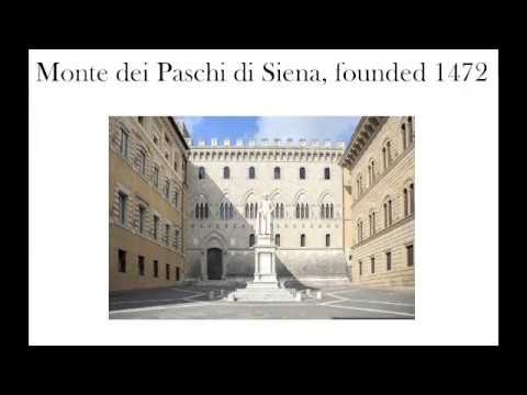 Bankers and Banking in Medieval Italy - Lecture by Professor David Abulafia