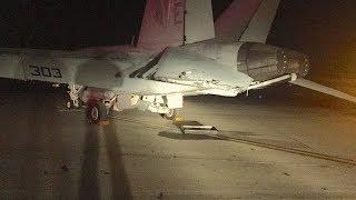 Pursuit onto Navy Base: F-18 Damage Photos, CHP Dash Cam Footage