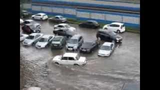 Наводнение в Новосибирске 6 августа 2013 г.