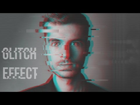 GLITCH EFFECT ON PORTRAIT IN PHOTOSHOP | PHOTOSHOP TUTORIAL