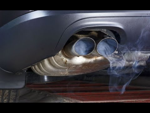 О чем говорит синий дым из выхлопной трубы автомобиля - Смотреть видео без ограничений