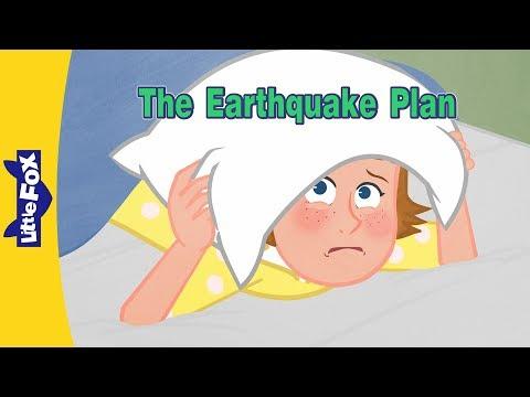 The Earthquake Plan | Family | Little Fox | Bedtime Stories