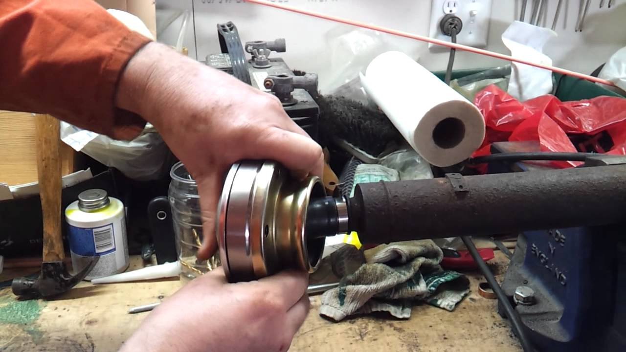 Bad 2002 Jeep Liberty Front Drive Shaft New Cv Joint Youtube