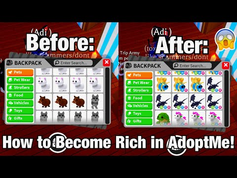 How To Become Rich In Adoptme FAST! | Roblox Adoptme