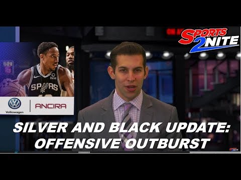 SILVER AND BLACK UPDATE: OFFENSIVE OUTBURST on the Sports2Nite TV show