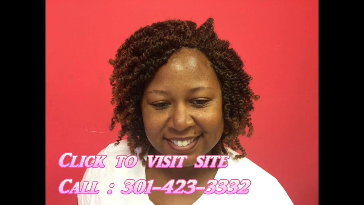 African Hair Braiding Shop in Temple Hills Maryland - YouTube