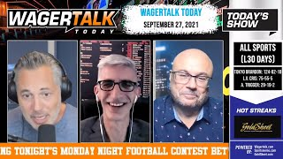 Free Sports Picks | Cowboys vs Eagles Preview | NCAAF Week 5 Picks | WagerTalk Today | Sept 27