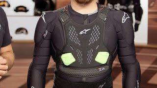 Alpinestars 2020 Mens Bionic Tech Jacket v2 Offroad Moto MX Black//Red All Sizes