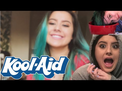 how i dye my hair with KOOL-AID!!!