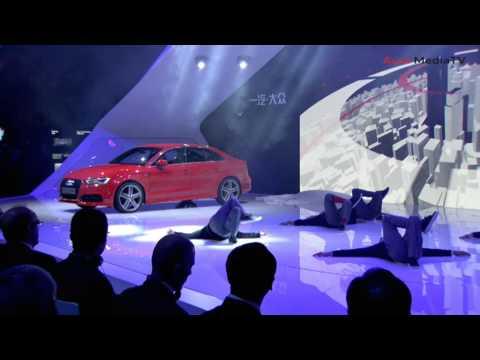 Audi Press conf at Shanghai Motor Show 2013
