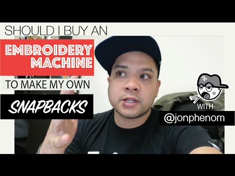 SHOULD I BUY AN EMBROIDERY MACHINE TO MAKE MY OWN ...