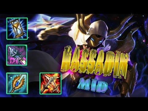 Kassadin Mid   Kassadin Siêu Phầm   Bay Lên Chết Luôn   Cách chơi và lên đồ   Liên Minh Huyền Thoại