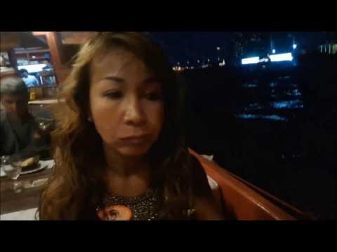 Cruise boat on Chao Praya River in Bangkok part 2...By Alina DV.234
