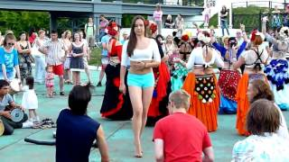 Girl dance, street Dancer