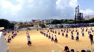 2013年度 平良中学校 運動会 組み体操 thumbnail