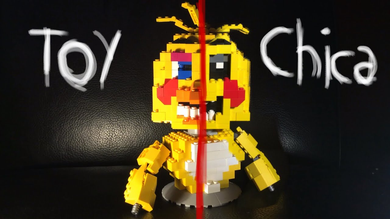 Lego 5 Nights At Freddy S Toys : Lego five nights at freddy s toy chica youtube