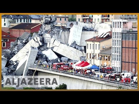 🇮🇹 Italy mourns bridge collapse victims amid calls for investigation | Al Jazeera English