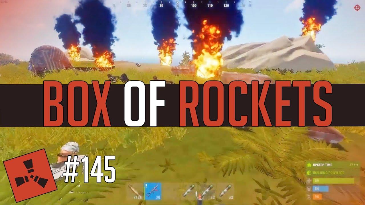 RAID Defense for BOX OF ROCKETS! (Rust Highlights #145)