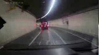 Dashcam video: Rotherhithe Tunnel