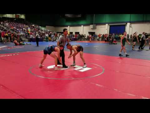 Jackson Dean 2016 Super 32 match 1
