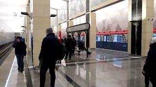 Seligerskaya to Timiryazevskaya ride, Moscow metro