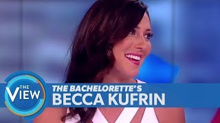 'Bachelorette' Becca Kufrin On Ex Arie Luyendyk Jr.'s Upcoming Wedding, Finding Love | The View