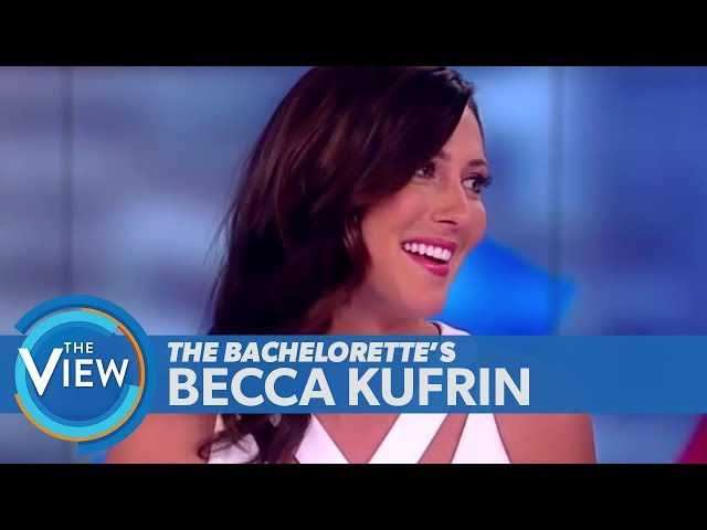 Bachelorette Becca Kufrin On Ex Arie Luyendyk Jr.s Upcoming Wedding, Finding Love | The View
