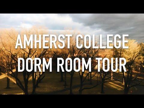 AMHERST COLLEGE DORM ROOM TOUR