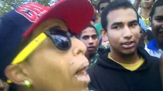 GuacaRap Freestyle Candelabrio vs Point