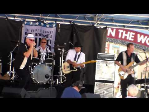 "Rick Hammond Blues Band, BBQ, Brews and Blues, 2013, Reno NV ""All Your Love"""