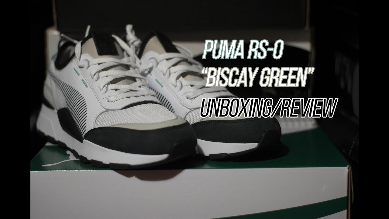 bc1deb9e5 Puma RS-0  Sneaker Unboxing and Review - YouTube