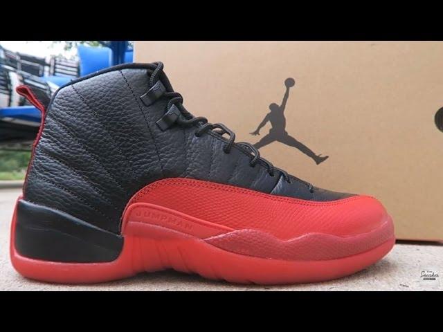 2016 Vs 1997 Air Jordan 12 Flu Game Bred Shoes Detailed Look