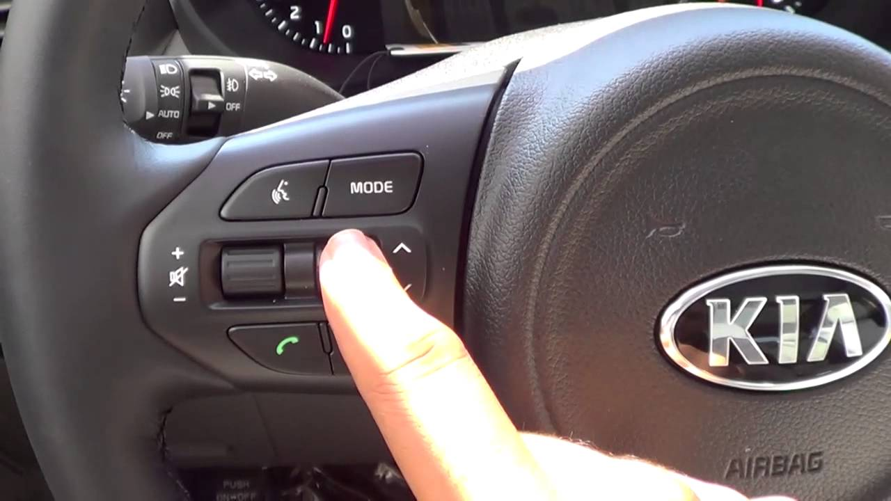 Steering Wheel Controls 2016 Kia Sorento Youtube