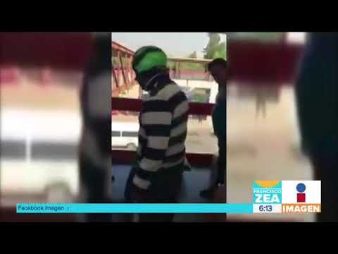 usuarios-detienen-y-golpean-a-un-ladrón-en-el-metro-bosque-de-aragón-|-noticias-con-francisco-zea
