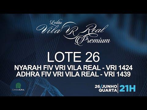 LOTE 26 (VRI 1424/VRI 1439)