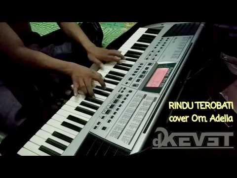 Rindu terobati keyboard 2 (rhytem) cover Om. ADELLA