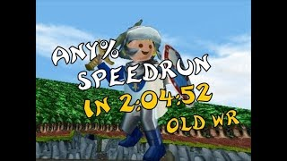 Hype: the Time Quest - Any% Speedrun  in 2:04:52 (old WR)