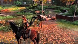 PS4 The Last of Us Remasterd DL版 エリーがとんでもないことに... 一応グロ注意.