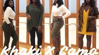| LOOKBOOK | HOW TO STYLE KHAKI AND CAMOUFLAGE |